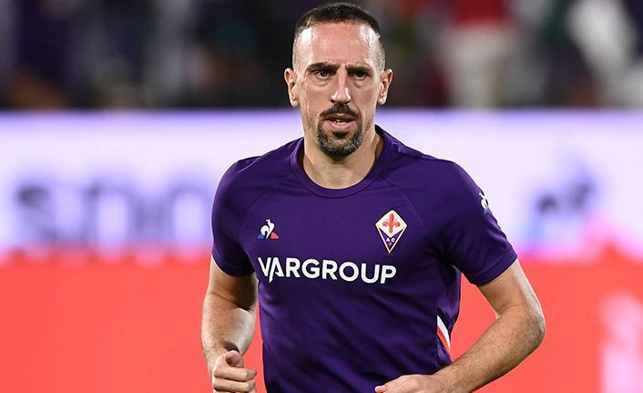 Frank Ribery Fiorentina'dan ayrıldı