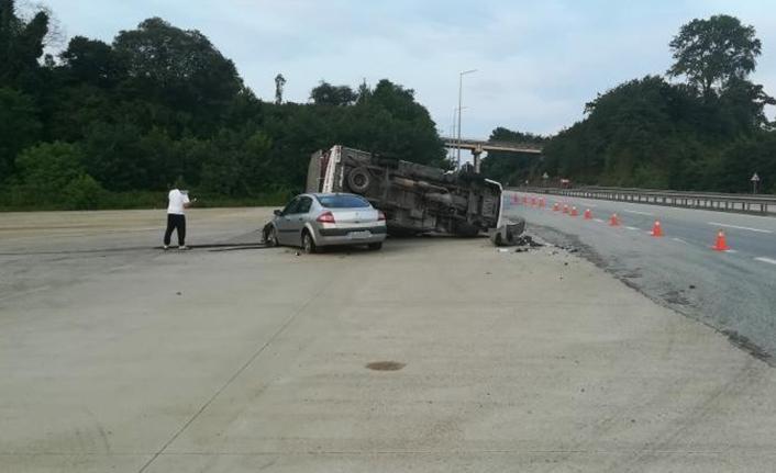Giresun'da kaza: 2 yaralı