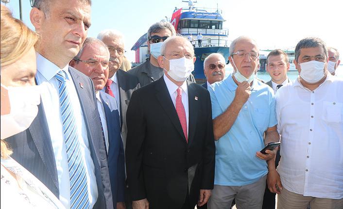 Kemal Kılıçdaroğlu Samsun'da