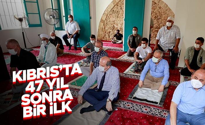 Kıbrıs'ta 47 yıl sonra bir ilk