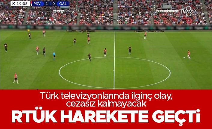 RTÜK, TV8'in maç yayını için harekete geçti