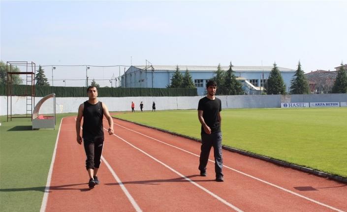 Sabah sporunu aksatmadılar, sporcu oldular