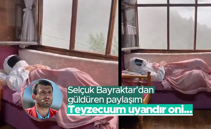 Selçuk Bayraktar'dan gülümseten paylaşım