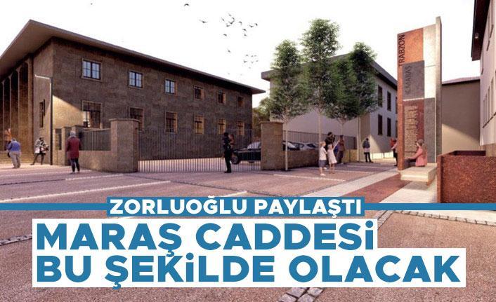 Trabzon'da Maraş caddesi bu şekilde olacak