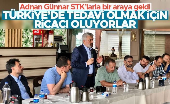 Trabzon Milletvekili Dr. Adnan Günnar STK'larla bir araya geldi