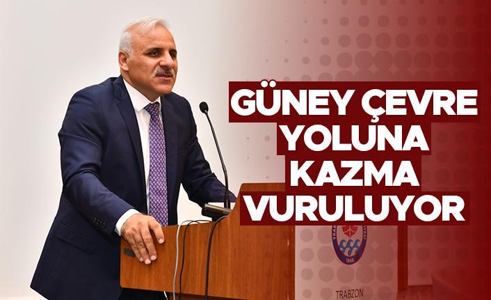 """Murat Zorluoğlu: """"Güney çevre yoluna kazma vuruluyor"""""""