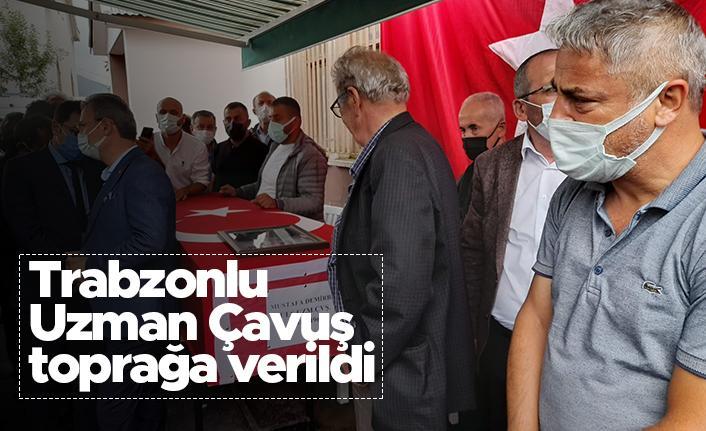 Trabzonlu Uzman Çavuş Mustafa Demirbaş, köyünde toprağa verildi