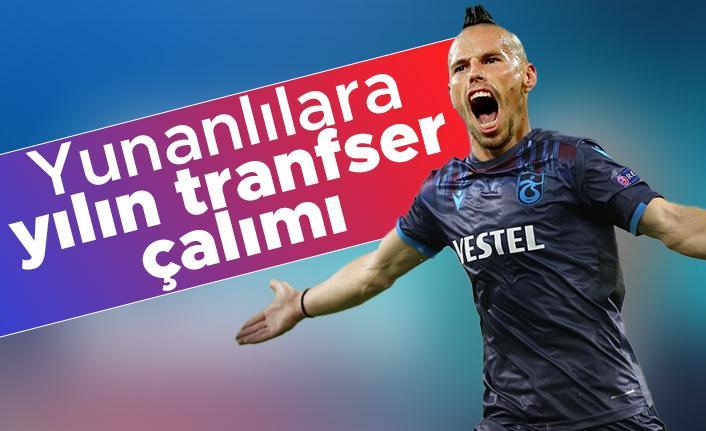 Trabzonspor'dan, Yunanlılara yılın transfer çalımı