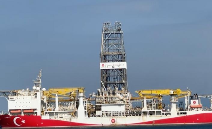 Türkiye'nin sondaj gemisi 'Yavuz' demir attı