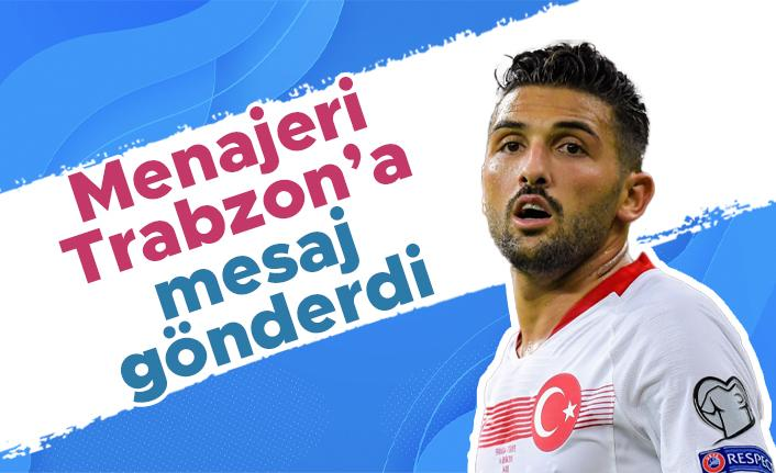 Umut Meraş'ın menajerinden Trabzonspor'a mesaj!