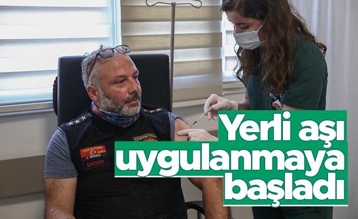 Yerli aşı Faz-2 aşaması için gönüllüler aşılanmaya başladı