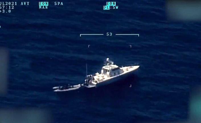 Yunanistan tarafından Türkiye'ye geri itilen 15 düzensiz göçmen sahil güvenlik ekiplerince kurtarıldı