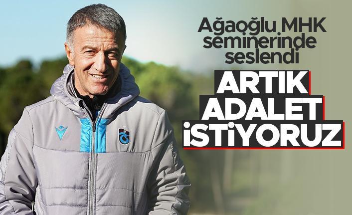 """Ahmet Ağaoğlu: """"Biz artık adalet istiyoruz"""""""