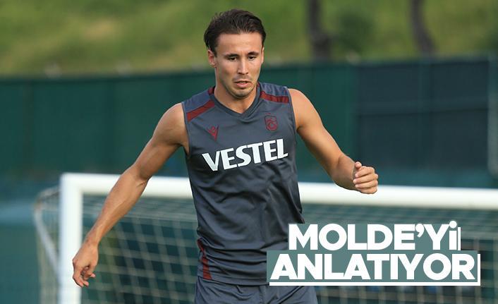 Anders Trondsen, takım arkadaşlarına Molde'yi anlatıyor