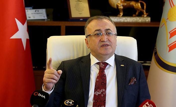"""Başkan Balcı: """"Aşı olmayana ekmek verilmeyecek türü bir uygulama söz konusu değildir"""""""