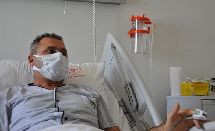 """Covid-19 hastasının büyük pişmanlığı: """"Keşke aşı olsaydım"""""""