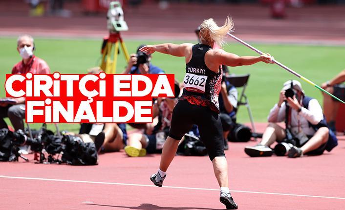 Eda Tuğsuz, Tokyo Olimpiyatları'nda finale yükseldi