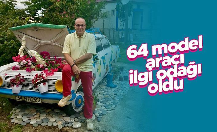 Haldun Domaç'ın 64 model otomobili dikkat çekiyor