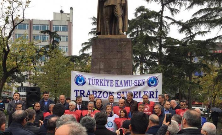 Kamu-Sen Trabzon İl Başkanlığı basın açıklaması yapacak
