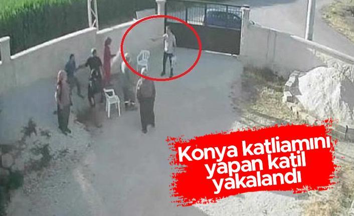 Konya katliamını yapan katil yakalandı