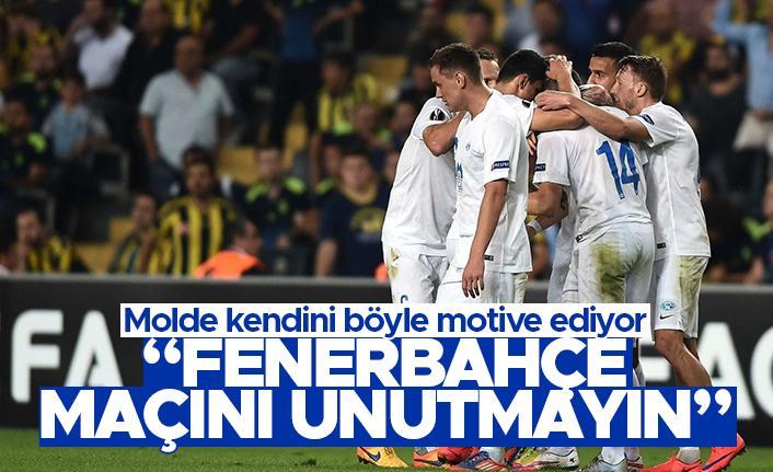 Molde'nin Fenerbahçe motivasyonu