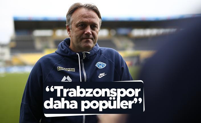 Molde Teknik Direktörü Erling Moe: Trabzonspor daha popüler bir takım