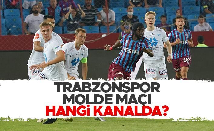 Molde - Trabzonspor maçı hangi kanalda?