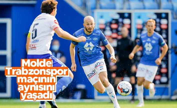 Molde Trabzonspor maçının aynısını yaşadı