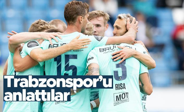 Molde, Trabzonspor'u böyle tanıttı