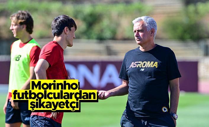 Morinho, futbolcuların o özelliğinden şikayetçi