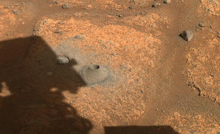 NASA'nın Mars kaşifi, kaya örneği toplamanın ilk denemesinde başarısız