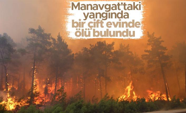 Orman yangınları: Manavgat'taki orman yangınında bir çift evinde ölü bulundu