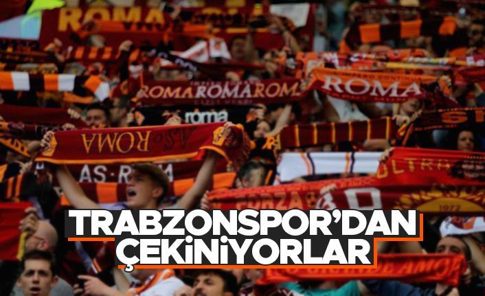 Roma'lılar, Trabzonspor eşleşmesinden memnun değil