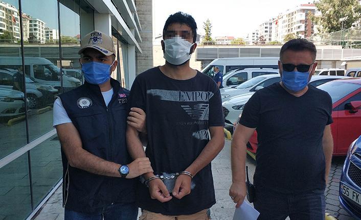 Samsun'da yabancı uyruklu 1 kişi DEAŞ'tan gözaltına alındı