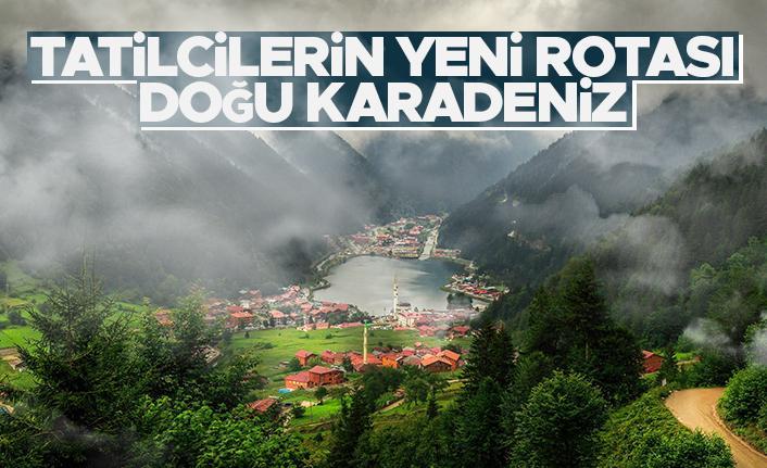Tatilcilerin yeni rotası Doğu Karadeniz