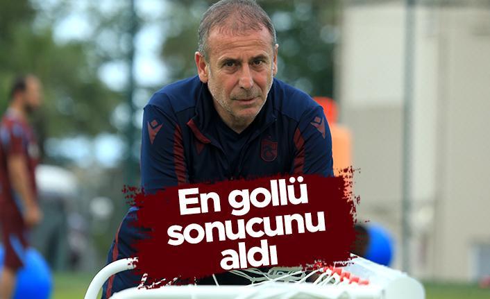Trabzonspor'da Abdullah Avcı, en gollü sonucunu aldı