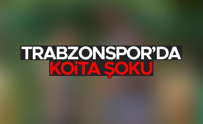 Trabzonspor'da Fode Koita şoku