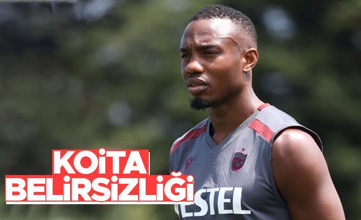 Trabzonspor'da Koita belirsizliği