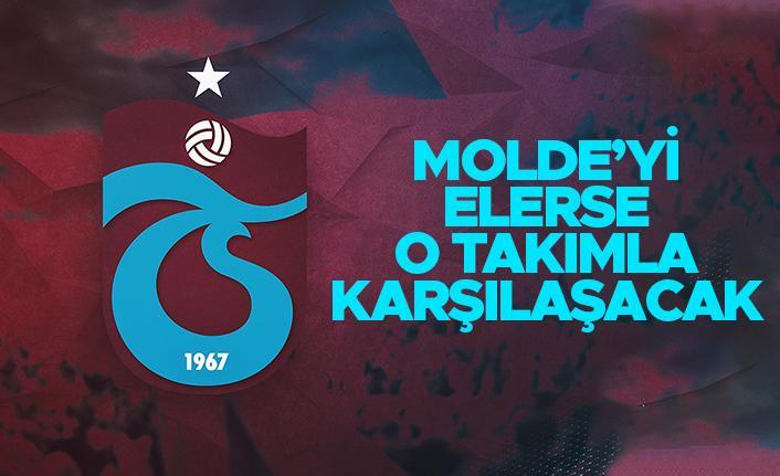 Trabzonspor Molde'yi elerse o takımla karşılaşacak