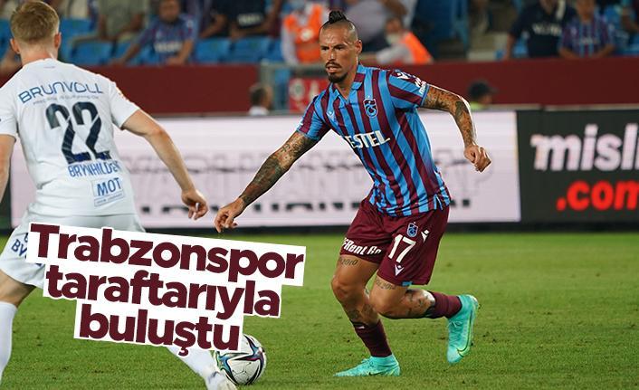 Trabzonspor taraftarıyla buluştu; satışlar patladı