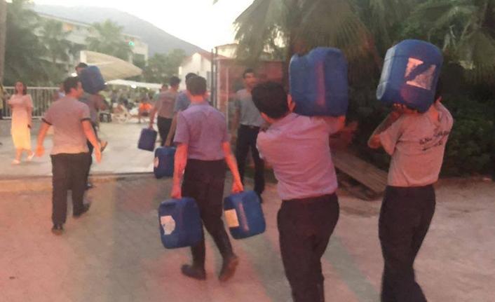 TSK, afet bölgelerinde desteğini sürdürüyor