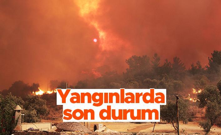 Yangınlarda son durum - Bakan Pakdemirli açıkladı