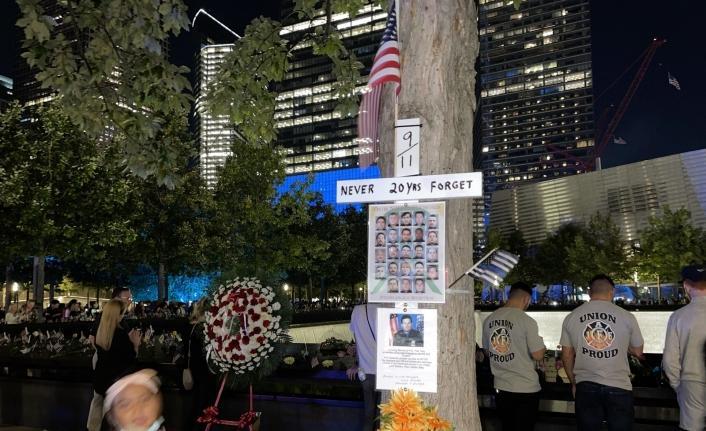ABD'de, 11 Eylül saldırılarının 20. yılında anma törenleri düzenlendi