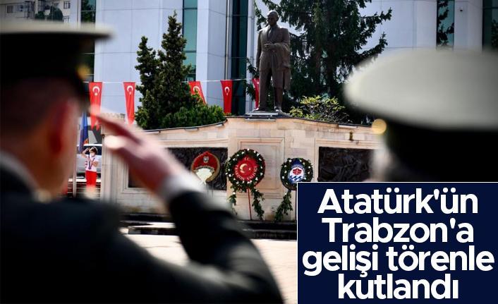 Atatürk'ün Trabzon'a gelişi törenle kutlandı