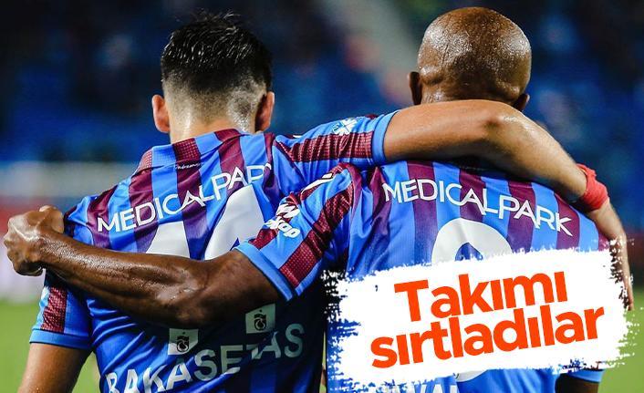 Bakasetas ve Nwakaeme Trabzonspor'u sırtladı