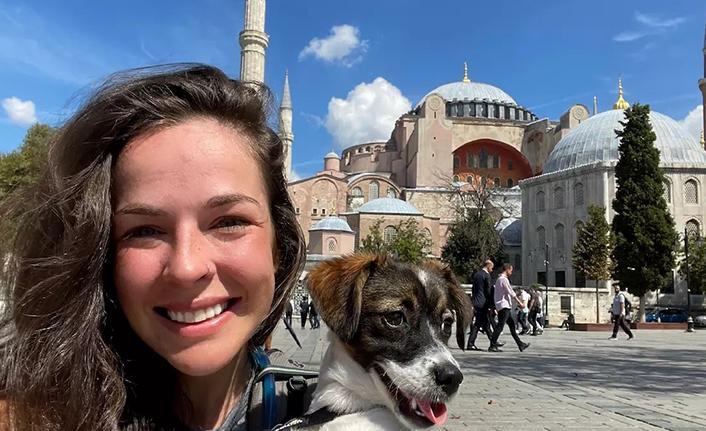 Çekya'dan İstanbul'a yürüdü, Ayasofya'da gözyaşlarına boğuldu