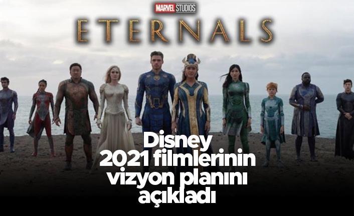 Disney, 2021 filmlerinin vizyon planını açıkladı