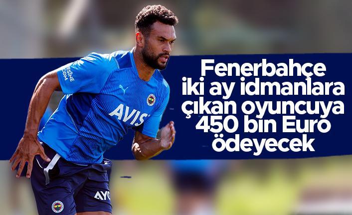 Fenerbahçe iki ay idmanlara çıkan Steven Caulker'a 450 bin Euro ödeyecek