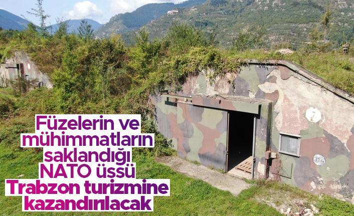 Füzelerin ve mühimmatların saklandığı NATO üssü turizme kazandırılacak