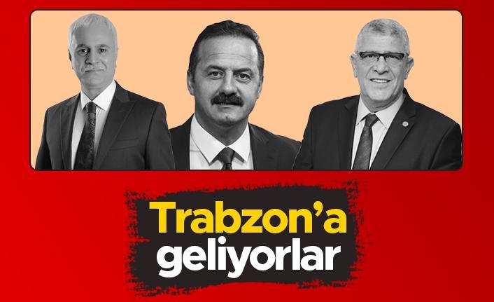 İYİ Parti'den Koray Aydın ve Yavuz Ağıralioğlu Trabzon'a geliyor